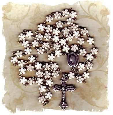 unique rosary | ... Very unique and nice to hold while praying the rosary. More details