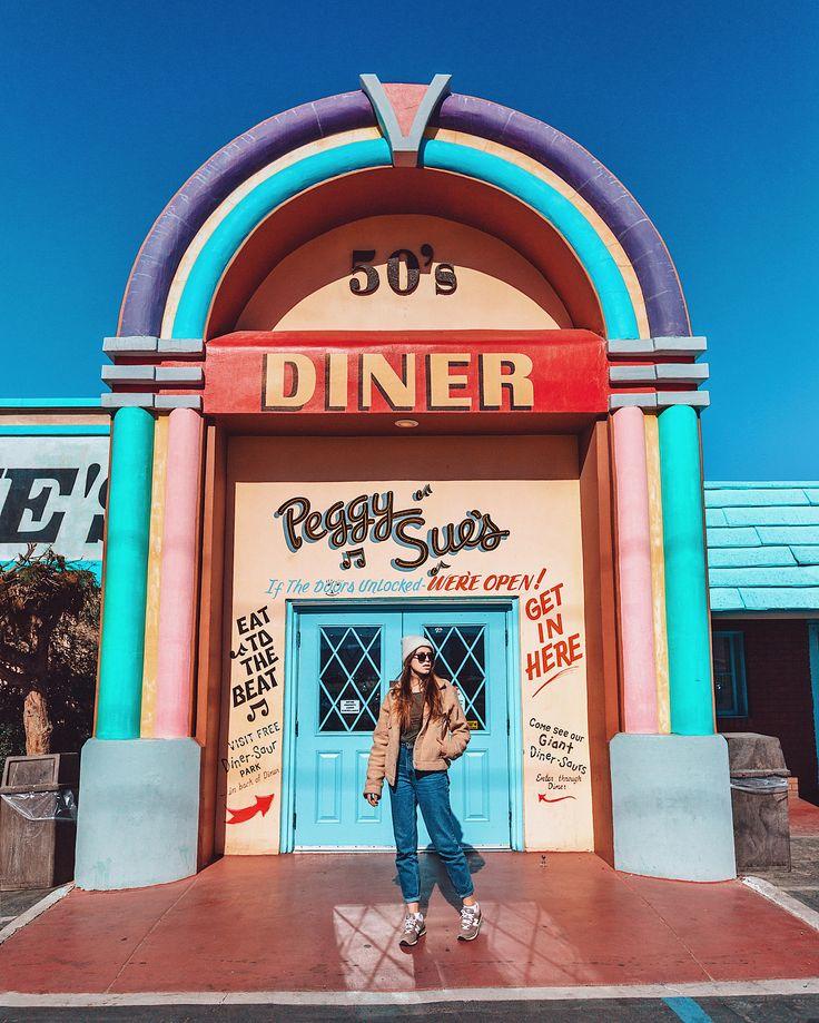 Peggy Sue S 50s Diner Retro Diner Vintage Diner California Activities