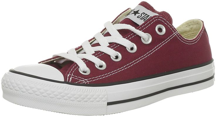 Converse All Star OX Maroon Womens Trainers -- Read more  at the image link.