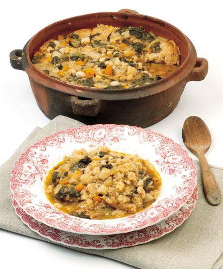 #Zuppa di #fagioli (che diventa ribollita)