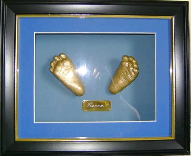 golden 2 cute feet www.keepsake4u.com.au