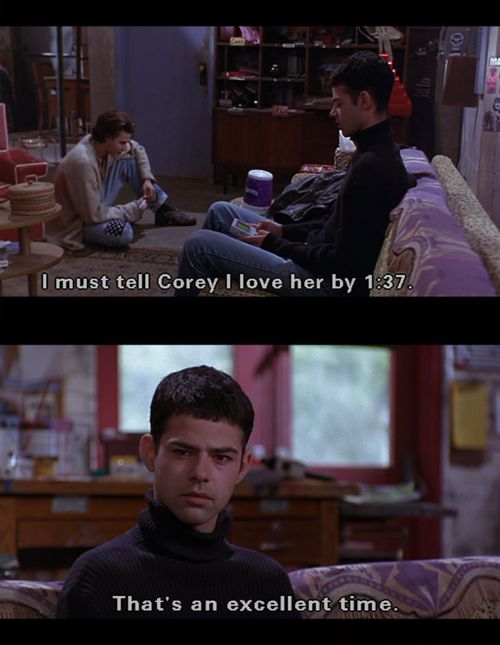 Empire Records - It's time to watch this again for the 100th time :)