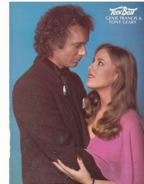 Luke and Laura from General Hospital.   We all cut school the day they got married.  2 PM on ABC.