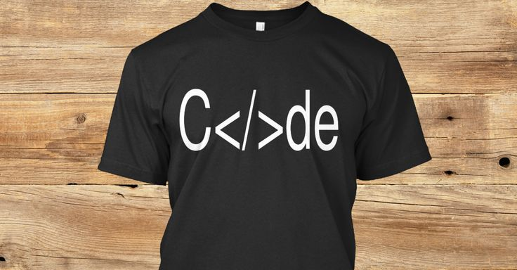 Grab your C</>de shirt today just in time for the holidays. Show your friends  and family your passion! Let them know that you code for a living! Limited shirts left grab yours today before they run out! #computerprogramming #tech
