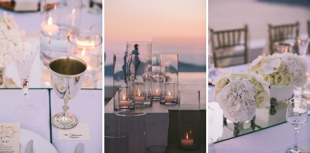Wedding Table Settings by Stella and Moscha, Weddings in Greece