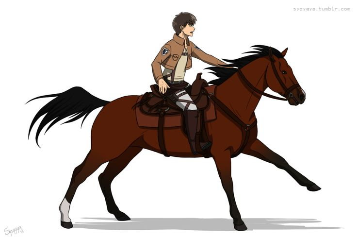 And then i thought what if the horses were just as