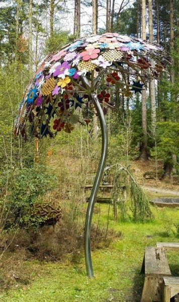 sculpture - pollination canopy - ruth moilliet - sculptor