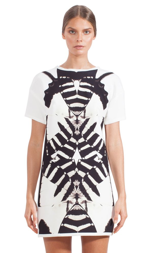 Tigertail Butterfly Tee Dress (by johnny. Summer Collection 2014 #FOUR)