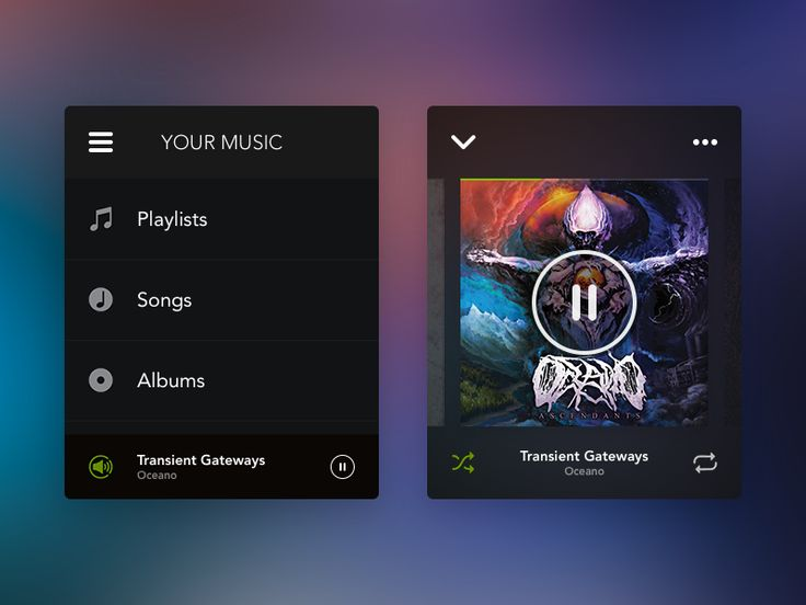 Spotify Apple Watch concept
