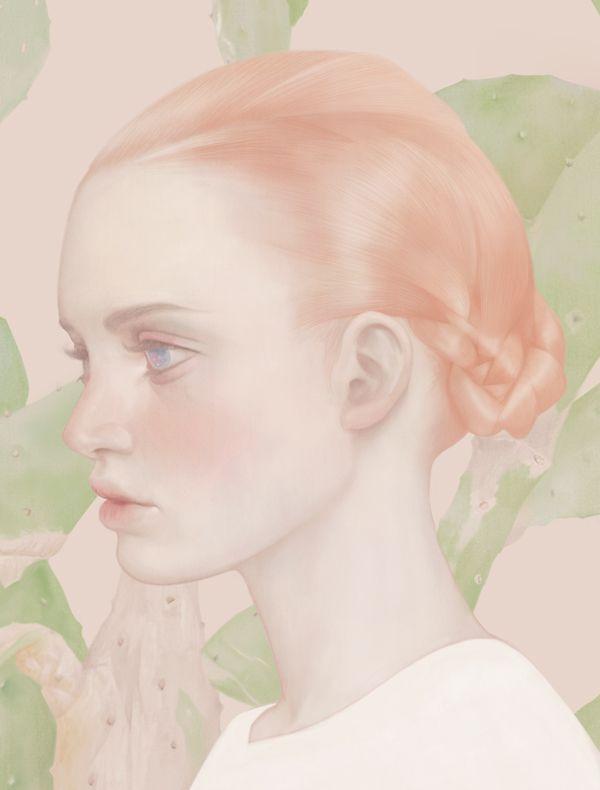Les illustrations pastel de Hsiao Ron Cheng illus pastel