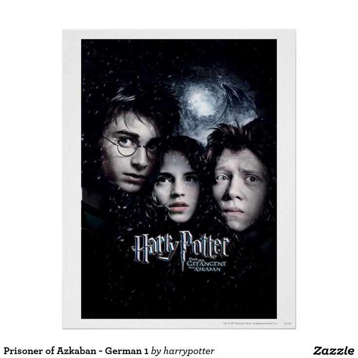 Prisoner Of Azkaban German 1 Poster Harry Potter Movie Posters Harry Potter Movies Prisoner Of Azkaban