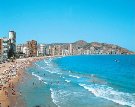 Benidorm, Spain was hot & humid but so alive!