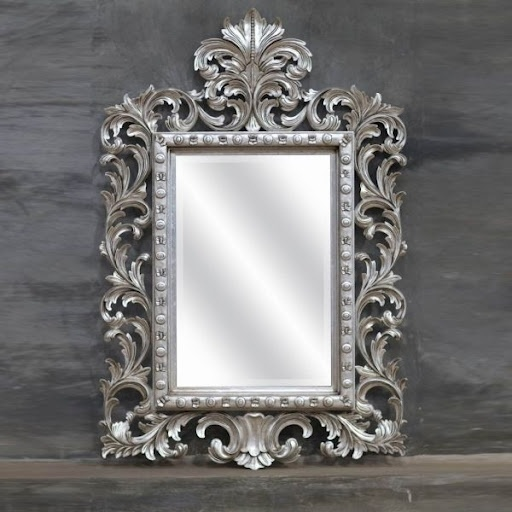 Les 25 meilleures id es de la cat gorie miroir baroque sur for Grand miroir baroque argente