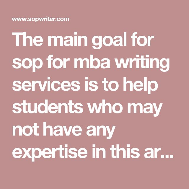 why mba essay