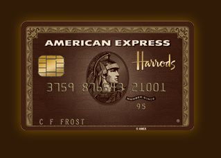 Disappear Here: American Express and Harrods Collaborate to produce an Invitation Only Amex Card.