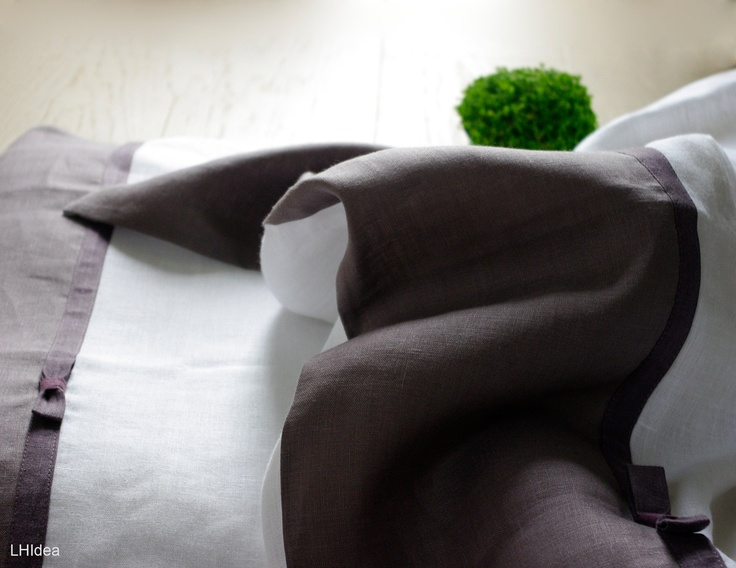 Custom made Linen Bedding Set (twin duvet  and pillowcase)..My Dreamy Dream..