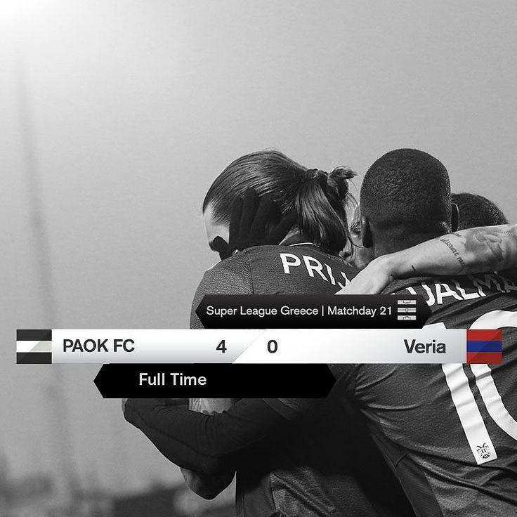 #PAOKVER 4-0 #SuperLeague #PamePAOKARA