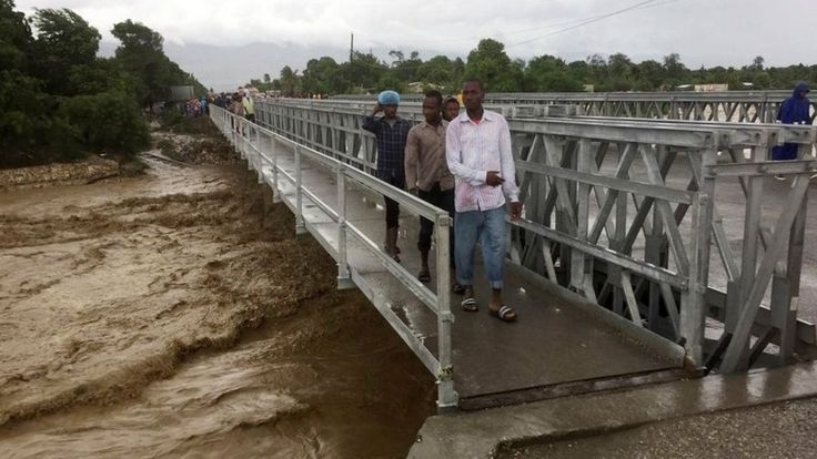 As Haiti is battered by the might of Hurricane Matthew, locals tell the BBC their fears for the island and describe the damage left in its wake.