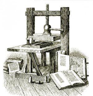 storia della stampa e della tipografia