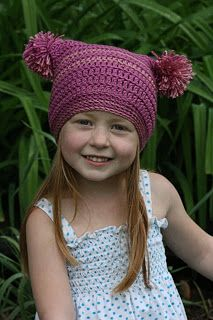 Free hat pattern Vallieskids: Pretty In Pink