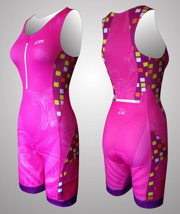 """NEW Limited-edition, Women's """"Panther"""" tri suit!"""