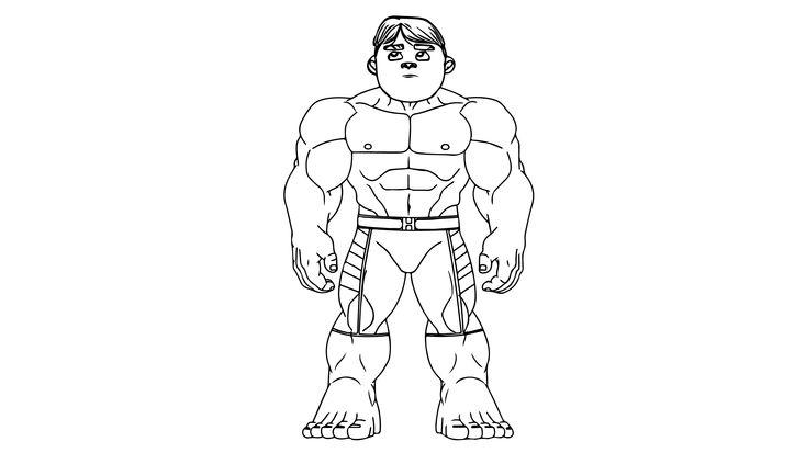 Rafadan Tayfa Hayri Hulk Boyama Sayfasi Cocuklar Icin Boyama Videolari Boyama Oyunlari In 2020 Coloring Pages Humanoid Sketch Art