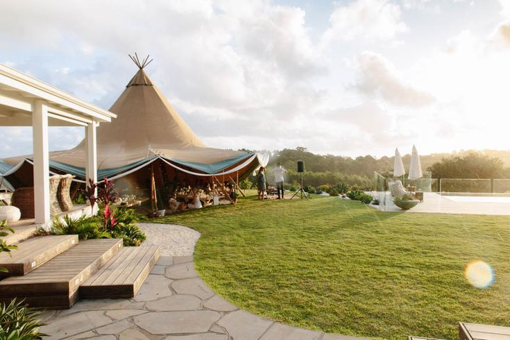 Swept away | The Grove Byron Bay / Samikata Tipi / found on the Spell Designs Blog