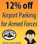 Rewards For Forces members who book with Park & Go will receive 12% discount off Park & Go's airport parking products.  Follow the link on our website to save on airport parking.