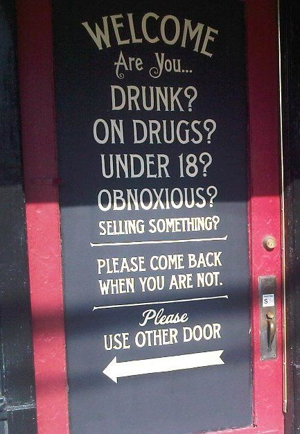 Tattoo parlor door in Deep Ellum (Dallas, TX).  Can I have this painted on my front door?