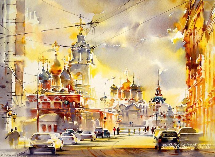 Литвиненко Ольга Варварка. Москва