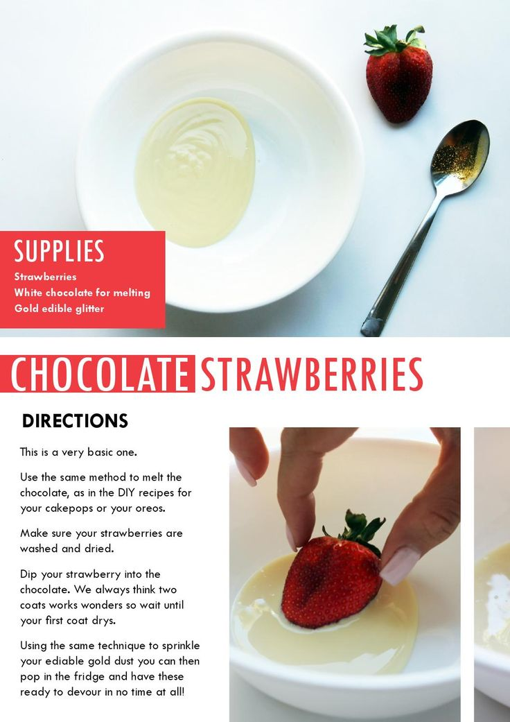Blessed Magazine Australia Issue 1 Chocolate strawberries DIY
