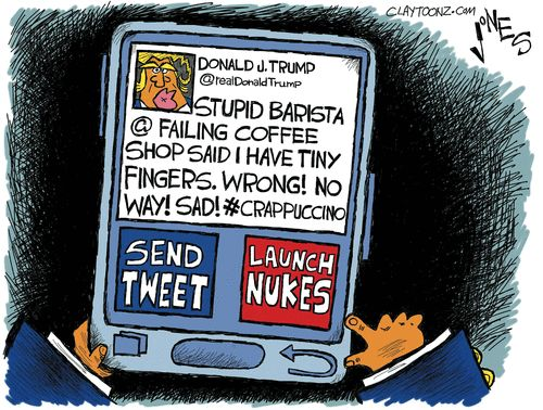 Clay Jones Editorial Cartoon, December 29, 2016     on GoComics.com