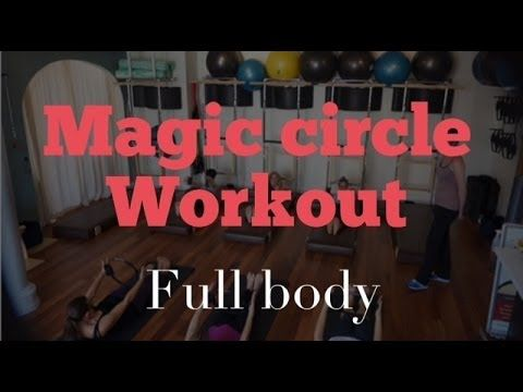 FULL 30 Minute | Intermediate Magic Circle Mat Workout with Andrea Davila - YouTube