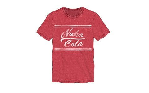 Fallout Nuka Cola Red Shirt