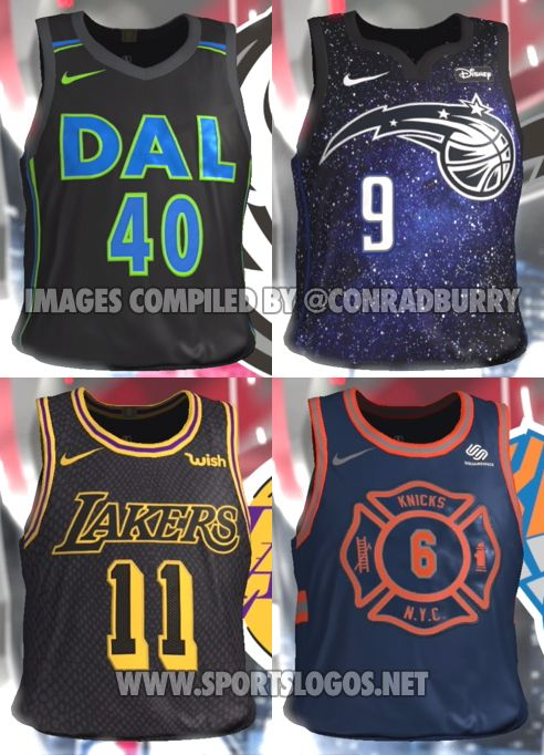 Video Game Leaks Nearly Full Set of NBA City Edition Alternate Jerseys  1f39dff97
