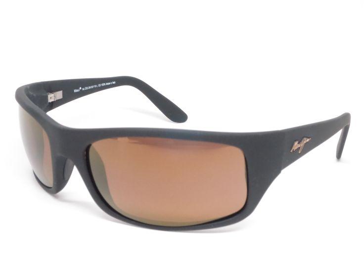 Maui Jim Peahi H202-2M Matte Black Polarized Sunglasses