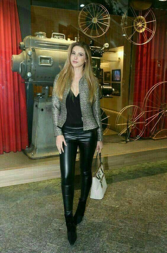 7245436feb4ca Lederlady ❤ | Leather pants in 2019 | Leder, Leder leggings und ...