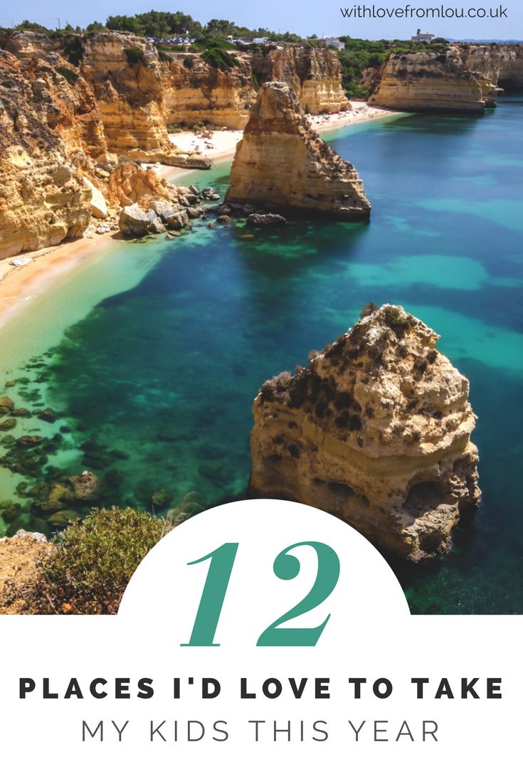 12 Places I'd Love to Take My Kids This Year. Click here to find out more: http://withlovefromlou.co.uk/2018/01/places-to-take-kids/