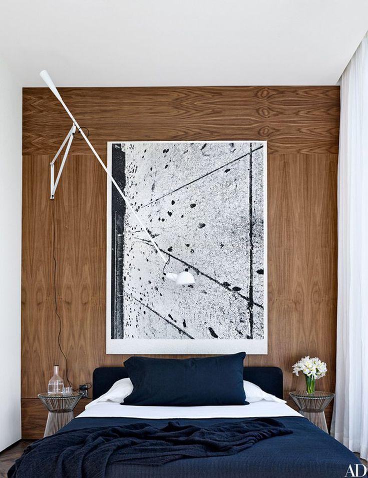 Bedroom design by Briggs Edward Solomon. Photo by Björn Wallander.