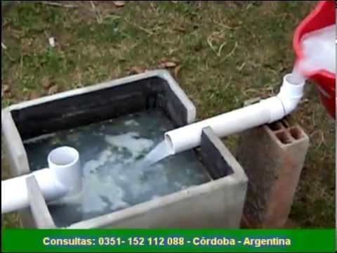 recuperador de aguas grises - YouTube