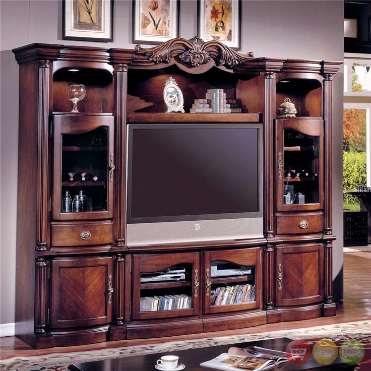 Large tv wall units google search media tv wall for Large tv wall units