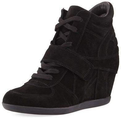 Ash Bowie Lace-Up Suede Sneaker Bootie