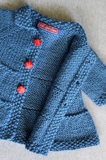 Adorable toddler coat pattern :-) From Ravelry, only $5.00.