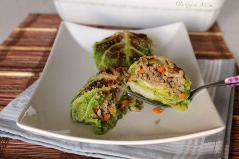 involtini di verza e carne, un secondo o un piatto unico molto gustoso, ottimo anche da proporre come antipasto. Un sapore delicato e completo che sorprende