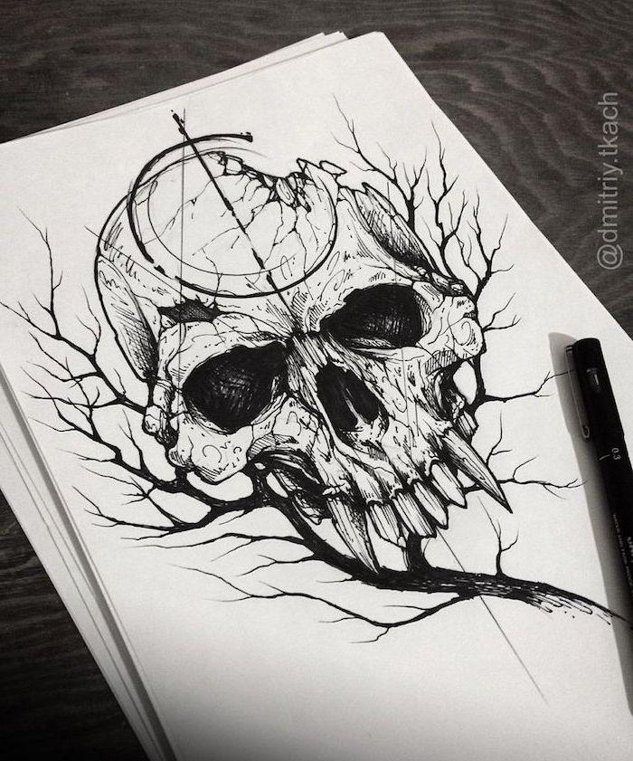 ▷ 1001 + Ideen und Bilder zum Thema geometrische Tattoos