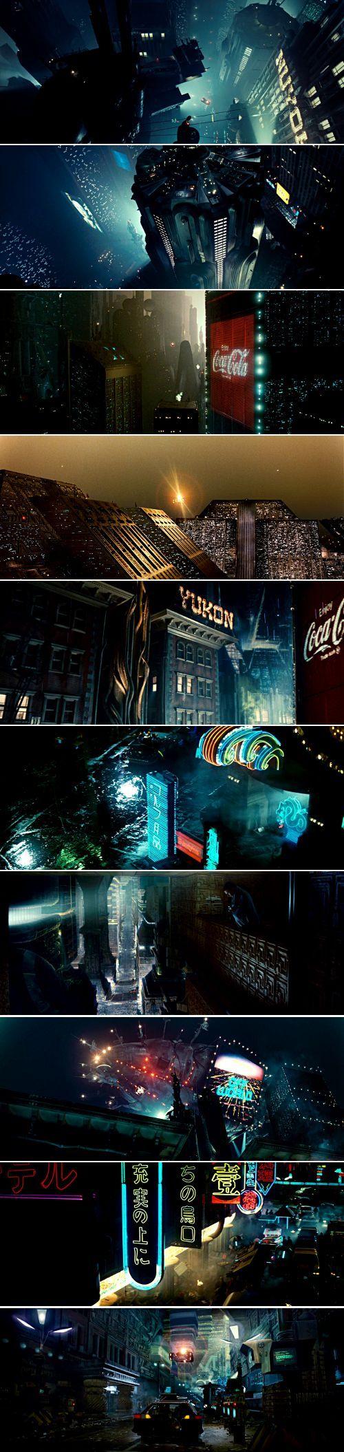 Los Angeles, 2019 Blade Runner (1982) dir. Ridley Scott