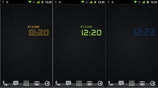 Скачать цифровые часы для Андроид бесплатно