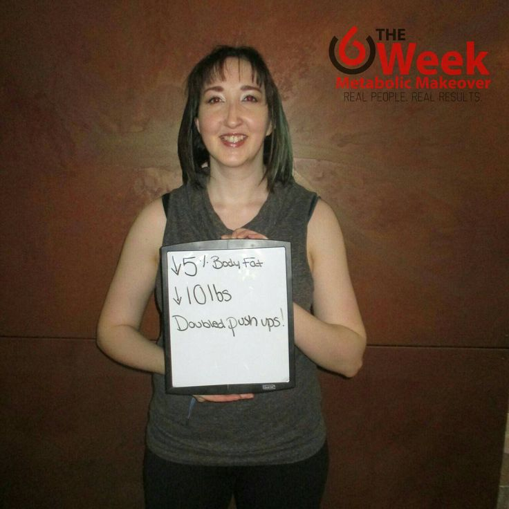 Wonderful results for Sandra who lost 10lbs, 5% body fat and doubled her upper body strength tests...all in 6 weeks!