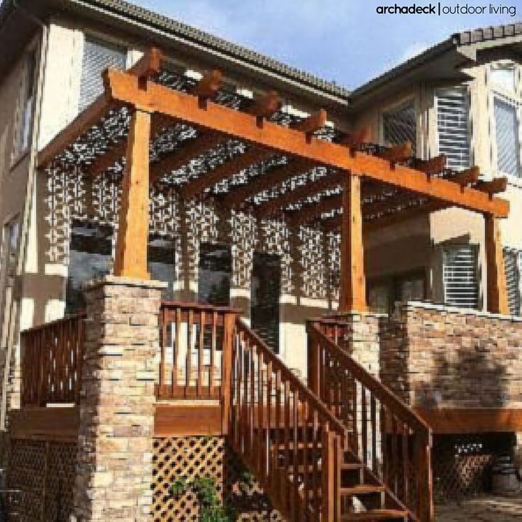 Our 4 Favorite Patio Pergola And Deck Lighting Design Tips: 106 Best Images About Backyard Shade Ideas On Pinterest
