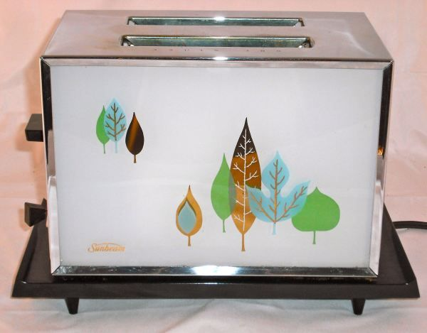 Lovely vintage Sunbeam Toaster Model AT-A Mid century